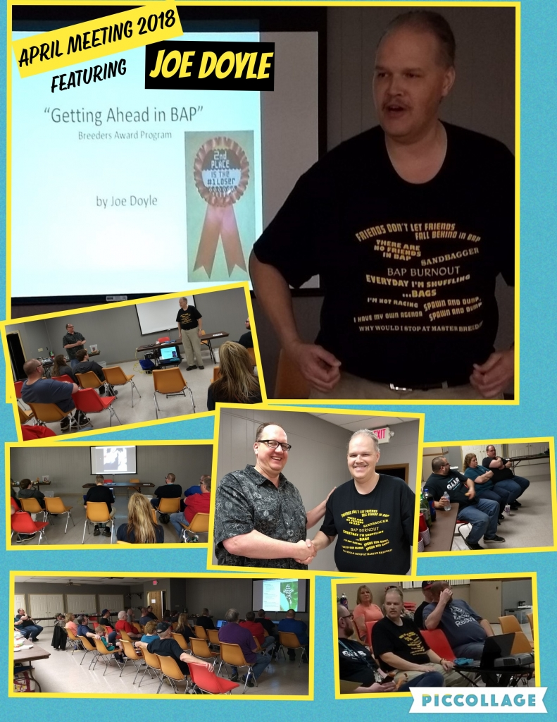 2018 April meeting Speaker Joe Doyle