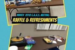 Raffle & Refreshments