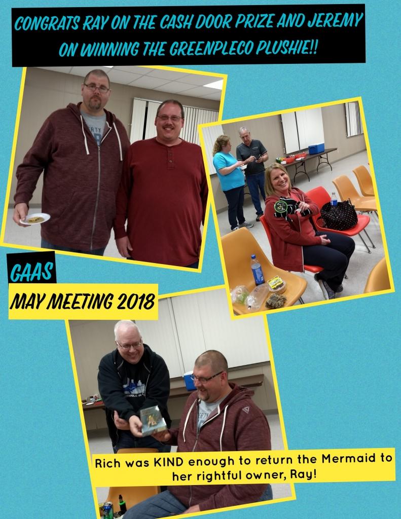 2018 GAAS May Meeting Winners